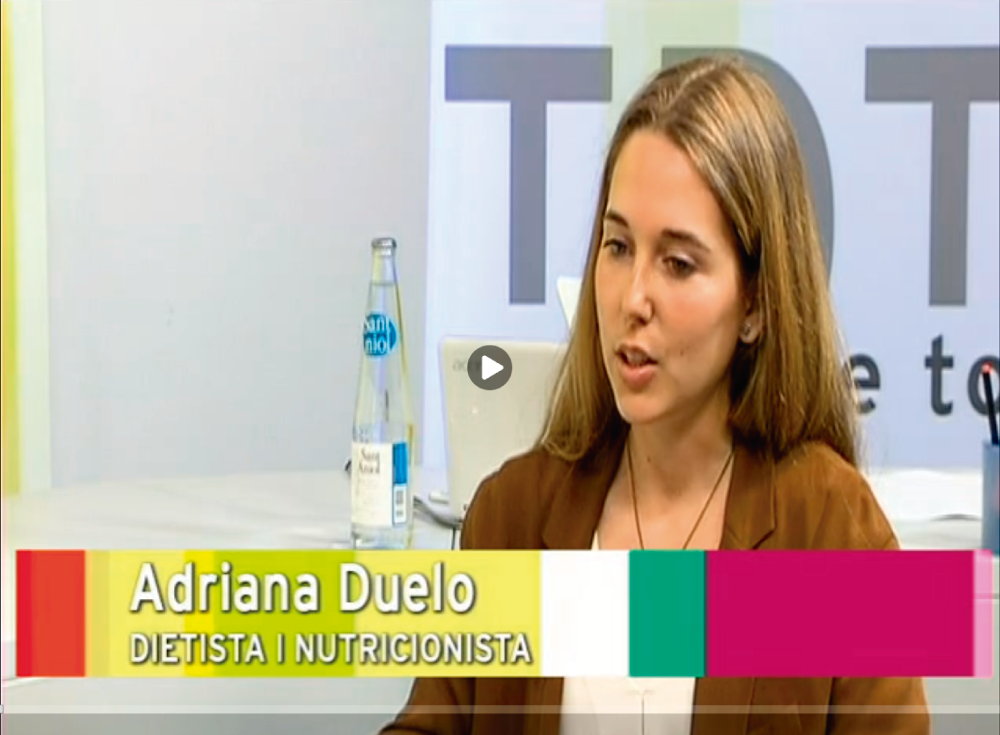 Intreview on TV Girona to Nutritionist Adriana Duelo, specialist in DAO Deficiency. diamine oxidase activity
