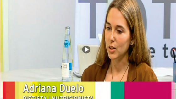 Entrevista en tv girona a Adriana Duelo, especialista en déficit de dao, actividad de la diamino oxidasa