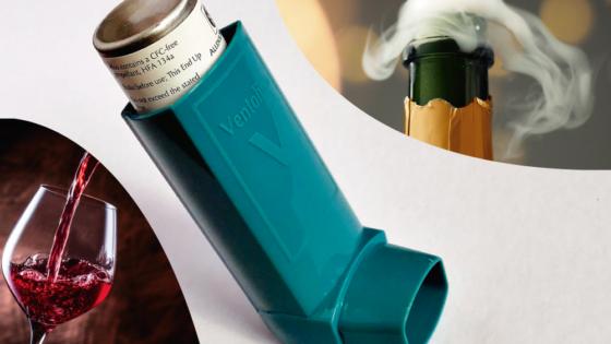 implicación del déficit de dao en las alergias pueden provocar asma el vino o el champan enzima diamino oxidasa