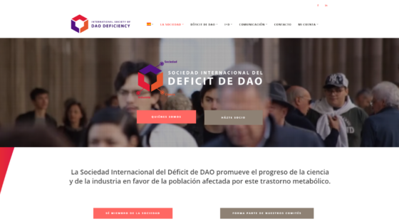 the International Society of DAO Deficiency estrena nueva web