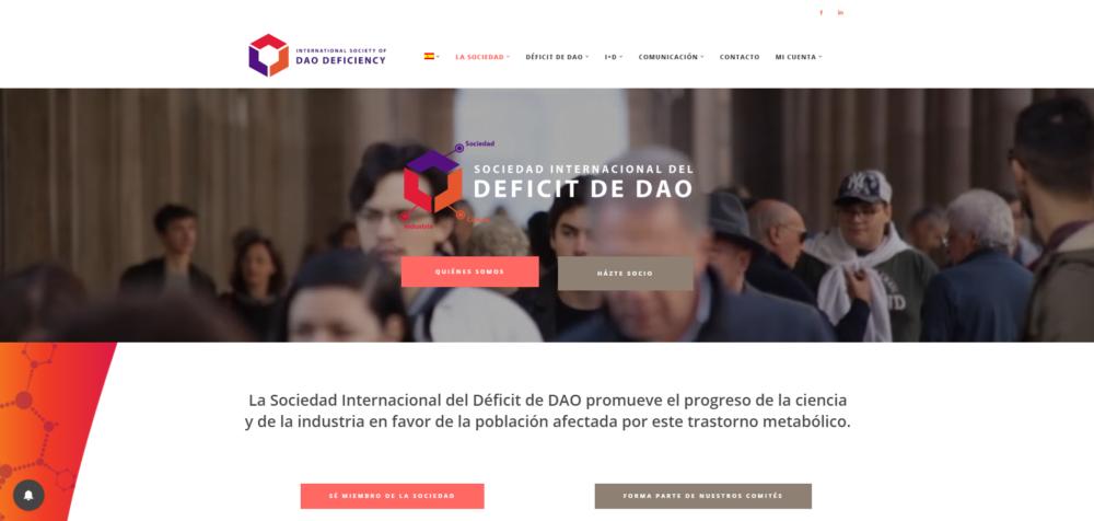the International Society of DAO Deficiency estrena nueva web